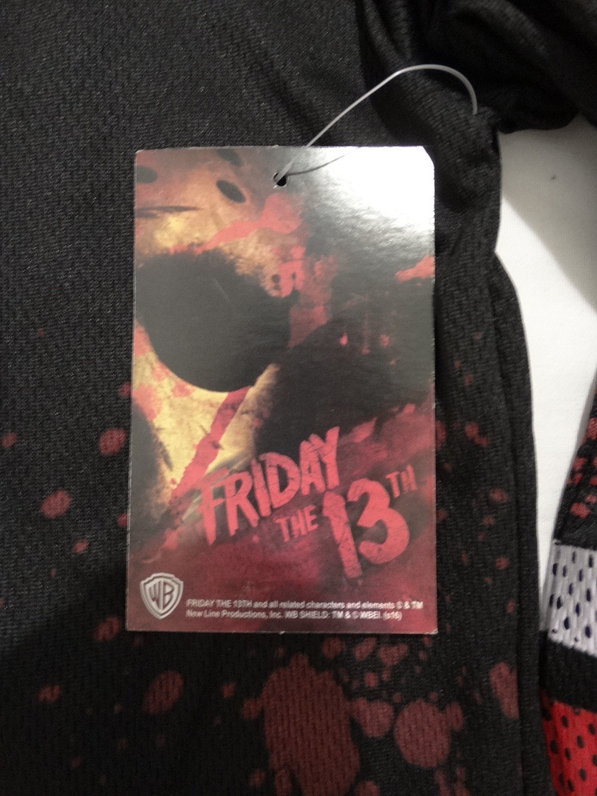 Friday The 13th Movie Jason Voorhees Bloody Hockey Jersey Shirt