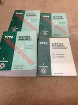 1998 CHEVY CAMARO PONTIAC FIREBIRD 2ND EDITION Service Shop Repair Manua... - $27.71