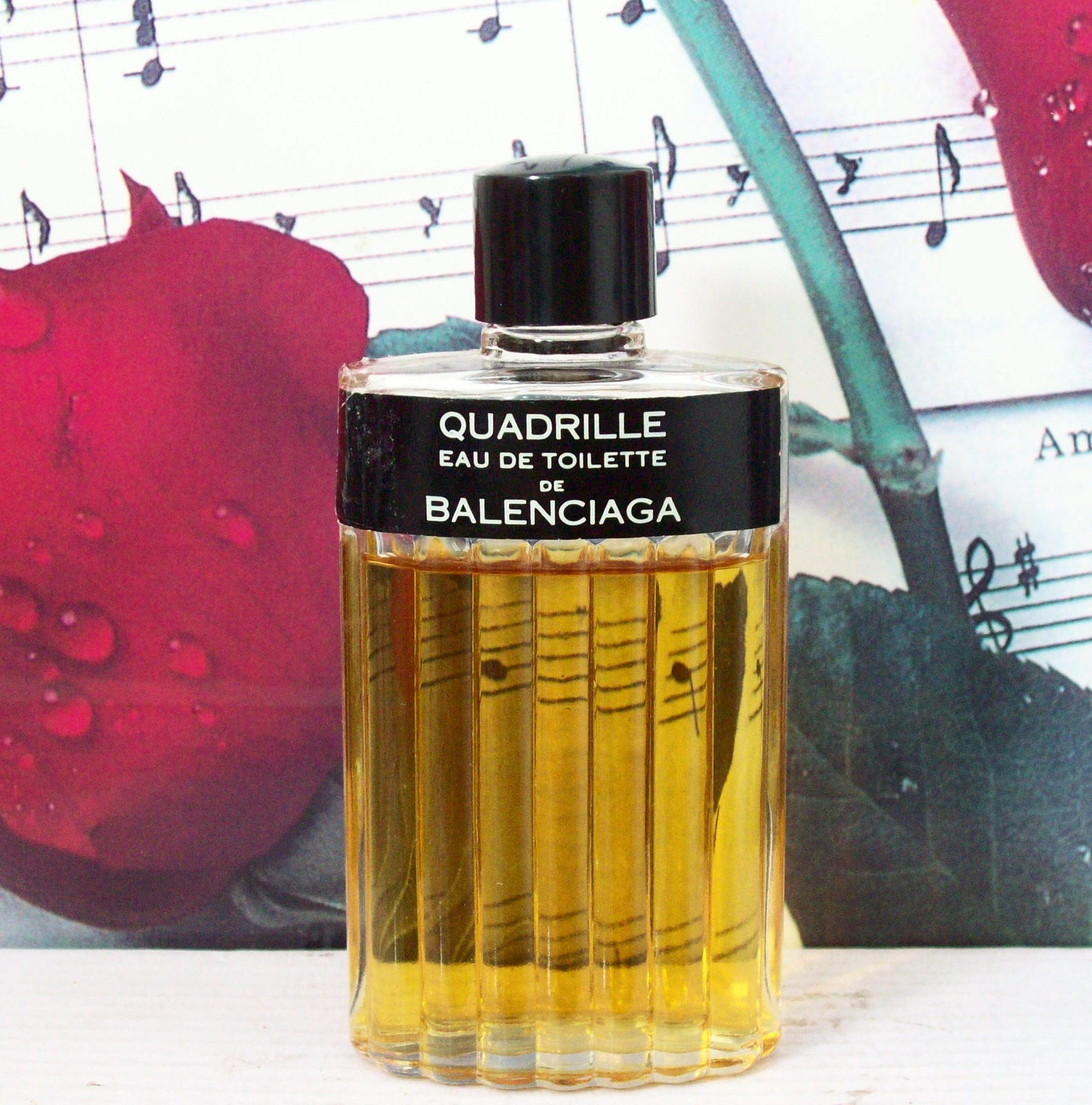 Primary image for Quadrille By Balenciaga EDT Spray 2.0 FL. OZ. 75% Full, Without Box.