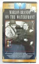 On The Waterfront 1954/1990 VHS Tape, Marlon Brando, Karl Malden, Steiger - $7.66