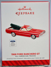 Hallmark - 1968 Ford Ranchero GT - All American Trucks - Series Ornament - $14.25