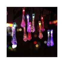 Solar Powered String Lights Patio Multicolored Outdoor Yard Party LED Ga... - €16,51 EUR