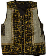 Men's Silk Casual Vest Eagle Design - €13,74 EUR