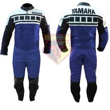 YAMAHA 6728 BLACK MOTORBIKE MOTORCYCLE BIKERS COWHIDE LEATHER ARMOURED 2... - $339.99