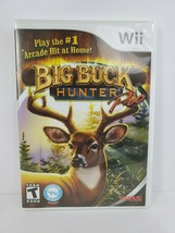 Big Buck Hunter Pro Nintendo Wii 2010 Complete Tested Works - $14.70