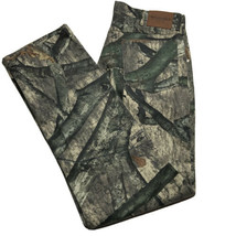 Vintage Wrangler Pro Gear RealTree Men's Size 34x32 Camo Work Hunting Pa... - $34.58