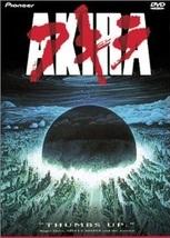 Akira DVD- Classic 1988 Japanese Futuristic Anime movie by Katsuhiro Otomo - $19.99