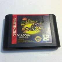 AAAHH Real Monsters (Sega Genesis) Cartidge Only - Untested - $14.03
