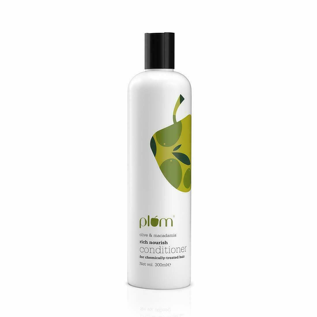 Plum Olive & Macadamia Rich Nourish Conditioner Green 300 ml