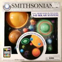 Smithsonian 3-D Hanging Glowing Solar System New Free US Shipping  - $27.23