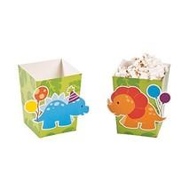 "Little Dinosaur Popcorn Boxes. 24 pcs Size: 4"" x 3"" x 3"" - $9.10"