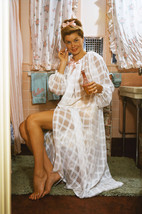 Esther Williams Barefoot in Bathroom Rare Color Pose 18x24 Poster - $23.99