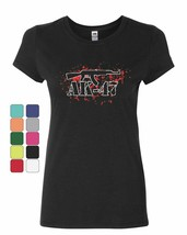 AK-47 Rifle Women's T-Shirt 2nd Amendment Supporter Defend 2A Gun Rights... - $9.93+