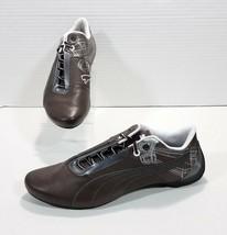 Puma Future Cat S1 Atomisity Motorsport Sneakers Mens 10 Brown Silver 30... - $45.80
