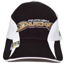 Anaheim Ducks Reebok CTD41Z NHL Practice Cap OSFM  Stretch Fit Hockey Cap Hat  - $18.99