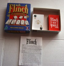 FLINCH Card Game 1998 The Original Stockpile Card Game Complete w/instru... - $24.00