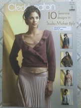 Rare Cleckheaton Knitting Pattern Book 941 ~ 10 Designs with Mohair 8 pl... - $2.75