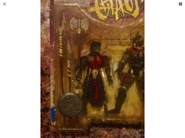 New SPAWN TOTAL CHAOS SERIES 1 CLUB EXCLUSIVE - Dragon Blade and The Con... - $16.99