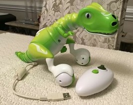 Spin Master Zoomer Dino Boomer Green Interactive - Includes Remote & Usb Cable - $71.25