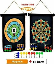 Double-Sided Rollup Magnetic Dart Board image 1