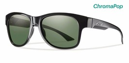 Smith Optics Wayward Sunglasses, Black Frame, Chromapop Polar Grey Green Lenses - $169.00
