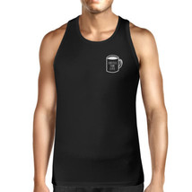Coffee For Life Mens Sleeveless Black Tank Top For Coffee Lovers - $14.99