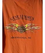 2004 T-Shirt Harley-Davidson Gene Lummus Swannanoa, South Carolina SC Or... - $14.84