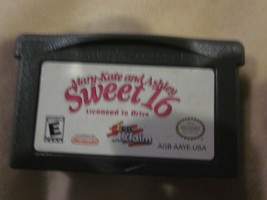 NINTENDO GAMEBOY GAME BOY ADVANCE MARY-KATE AND ASHLEY SWEET 16 LICENSE ... - $9.99