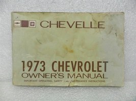 1973 Chevelle Owners Manual 16004 - $16.82