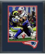 James Develin Super Bowl LIII - 11x14 Team Logo Matted/Framed Photo - $43.55