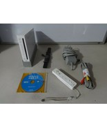 FULLY TESTED Original White Wii Console System w/ 1 Controls Cords Games - $129.73