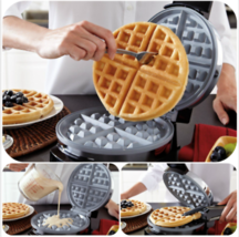 Belgian Waffle Maker Commercial Double Waring Breakfast Stainless Steel ... - ₨1,714.80 INR