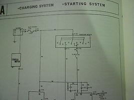 1977 Mazda B-1800 Truck Elektrisch Wiring Service Reparatur Shop Manuell 77 image 4