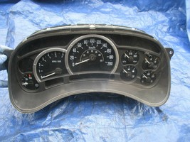 03-04 Cadillac Escalade instrument gauge cluster speedo OEM 15182143 KMH... - $379.99