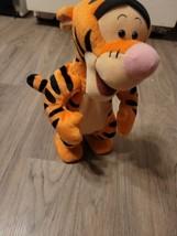 1998 Disney Winnie the Pooh Bouncing Tigger Plush Toy Bounces  - $19.80