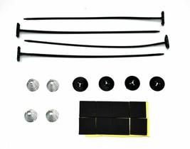 Universal Electric Radiator Fan Plastic Rod Heavy Duty Mounting Strap Kit