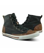 Burnetie Men's Carbon Black High Top Vintage Sneaker 10 M US - $59.50