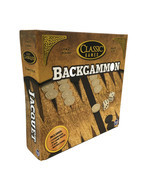 TCG Toys Classic Games Backgammon Board Game for 2 Players, NEW IN BOX! - $14.03
