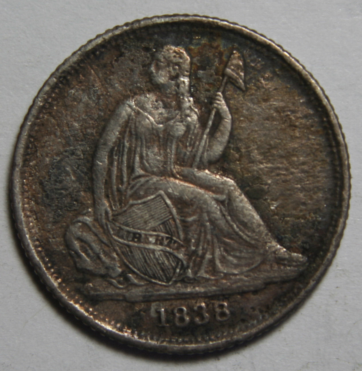 1838O Seated Dime Silver 10¢ Coin Lot# MZ 4072