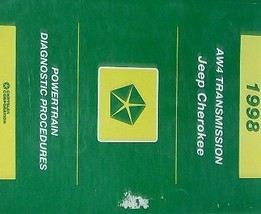 1998 JEEP CHEROKEE POWERTRAIN AW4 Diagnostic Procedures Service Repair M... - $27.72