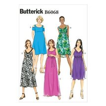 Butterick Patterns 6068 Misses Easy Maternity Dress and Belt Sizes 6-8-10-12-14 - $14.70