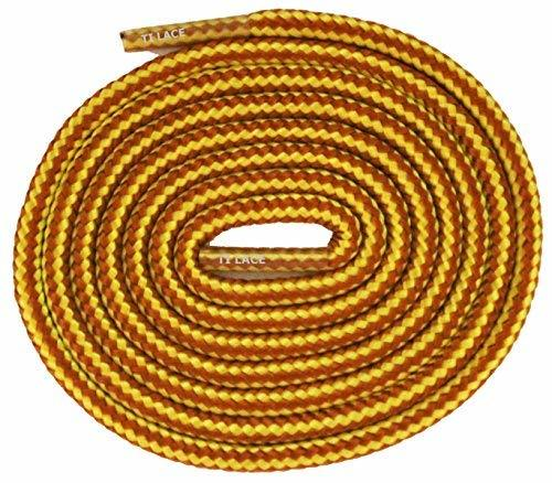 "Primary image for 45"" WORK TAN 3/16 Round Thick Shoelace For All Kid's Shoes"