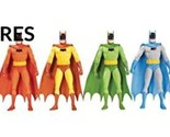 Batman Rainbow Action Figure 6 Pack (Anglais) Jouet – 31 août 2016