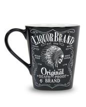 Liquor brand mug Firewater Indian Cheif Skull Coffee mug  - $22.00
