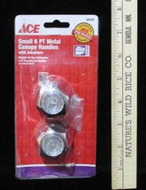Ace Universal Small Canopy Handles with Adapters 46545 Faucet Handle NOS - $8.86