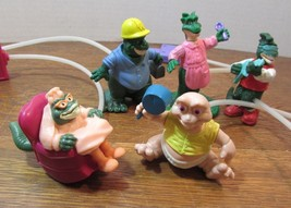 lot of 5 McDonald's Happy Meal Toy Dino Motion Dinosaurs Fran Sinclair &... - $18.51