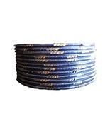 BangleEmporium Indian Wedding Accessory Pari Set! 12 Bracelets Dark Blue... - $7.99