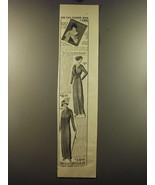 1913 Bellas Hess Modish Frock and Tailor-Made Suit Ad - Our fall fashion - $14.99