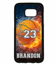 PERSONALIZED NAME NUMBER BASKETBALL PHONE Case For Samsung Galaxy S9 S8 ... - $11.99+