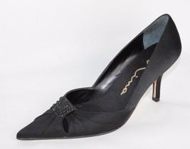 Nina Donna Scarpe Classico Nero Medio Tacco Parkle's Scarpe Misura 6.5 M - $16.68